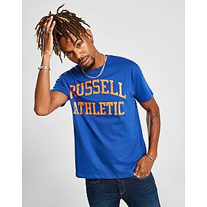 172098b0 Russell Athletic Arch Logo Short Sleeve T-Shirt ...
