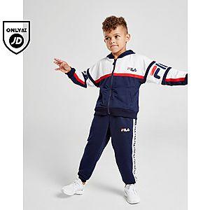 672dcc53e85377 Fila Owen Full Zip Suit Children ...