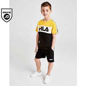 b78c3785d Fila Albert T-Shirt Shorts Set Children ...