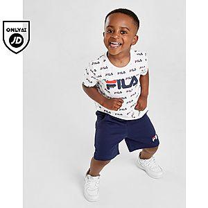 3428faafe Fila All Over Print T-Shirt Shorts Set Infant ...