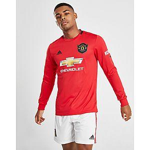 7ed2e52e6 adidas Manchester United 19 20 Long Sleeve Home Shirt ...