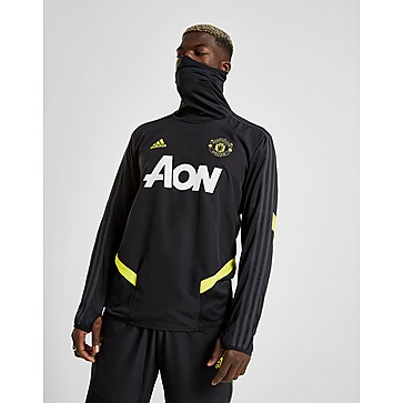 adidas Childrens Manchester United Warm Jacket Knitwear