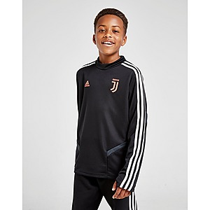 2019 2020 Juventus Adidas Presentation Jacket (Black) Kids