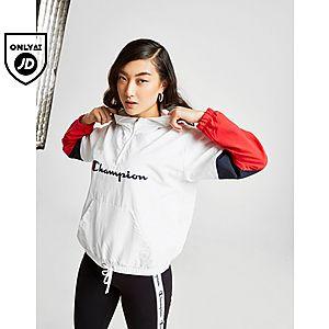 e0d7fe46cd7bb Champion Colour Block 1/4 Zip Jacket ...