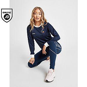 a3d465e4c12 ... Ellesse All Over Print Logo Long Sleeve T-Shirt
