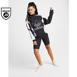 853bbe1793c2 ... adidas Originals Colour Block 1/4 Zip Sweatshirt