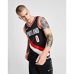 Nike NBA Portland Trail Blazers Lillard #0 Jersey