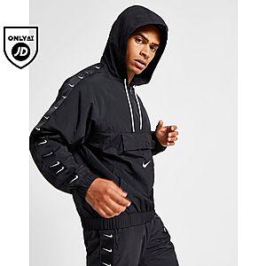 1d603b7c8 Nike Swoosh Woven Half Zip Jacket