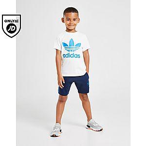 adidas Originals Logo T ShirtShorts Set Children