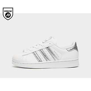 Adidas Superstars Holographic Glitter Sneakers