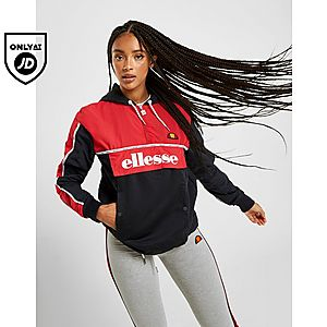49686969b Ellesse Piping 1/4 Zip Jacket