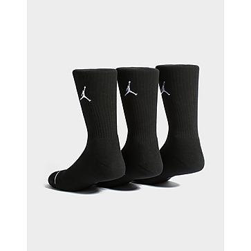 Jordan Jordan Jumpman Crew Basketball Socks (3 Pairs)