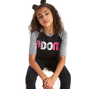 1e23f384 ... Nike Girls' Just Do It Boyfriend T-Shirt Junior