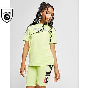 c910fcd0e980 Fila Reflective Logo Boyfriend T-Shirt ...
