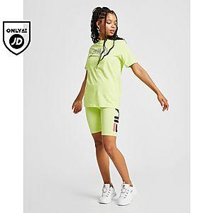 e99aa656f078 ... Fila Reflective Logo Boyfriend T-Shirt