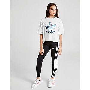 02835a641a8abc ... adidas Girls' Training 3-Stripes Leggings Junior
