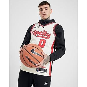 Nike NBA Portland Trail Blazers Lillard #0 SM Jersey