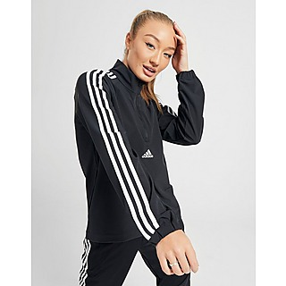 Details about Adidas Condivo 14 Jacket Small Football Training Crew FC Logo Full Zip Red White