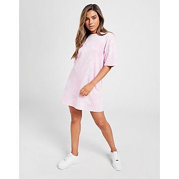 11 Degrees Acid Wash T-Shirt Dress