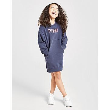 Tommy Hilfiger Girls' Logo Crew Sweatshirt Dress Children