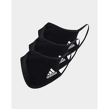 adidas 3 Pack Face Coverings