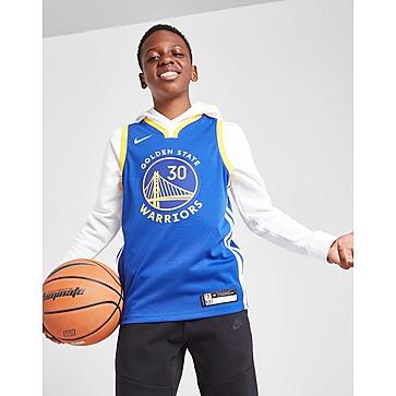 Nike NBA Golden State Warriors Curry #30 Jersey Junior