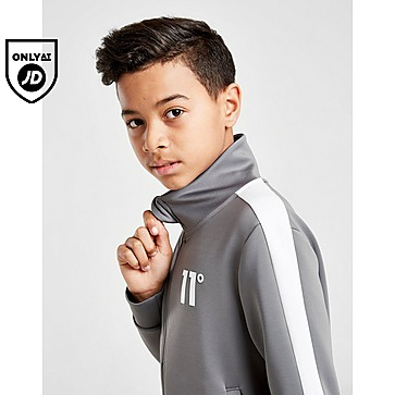 11 Degrees Cut & Sew Poly Tracksuit Junior