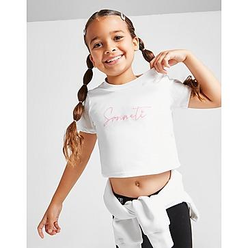 Sonneti Girls' Mini Essential Crop T-Shirt Children