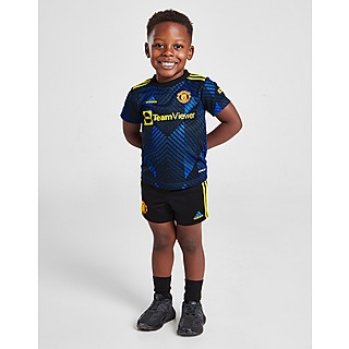 adidas Manchester United FC 2021/22 Third Kit Infant PRE