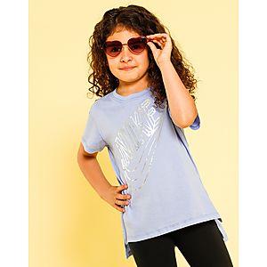 fcf6e124f NIKE Girls' Sportswear Futura T-Shirt Junior
