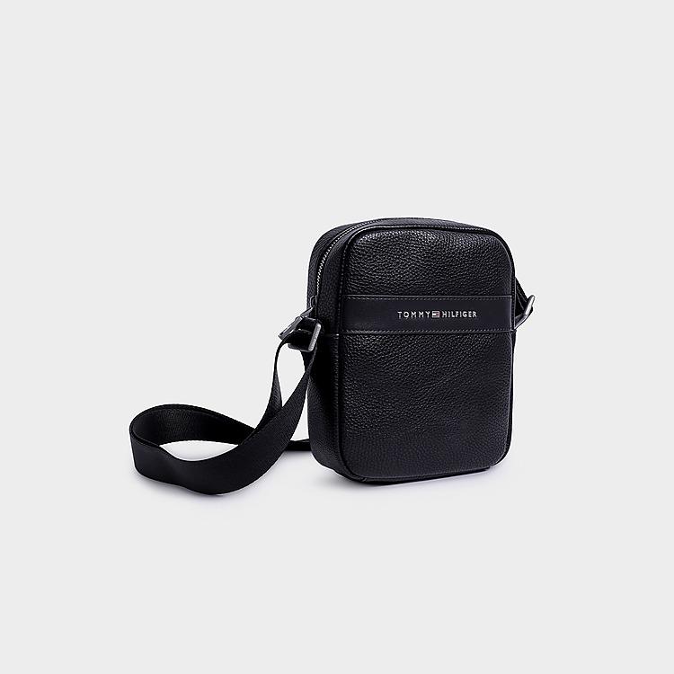 Tommy Hilfiger Modern Leather Mini Reporter Bag