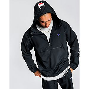 fe91d2ce511 CHAMPION C-Athletic Woven 1/4 Zip Jacket