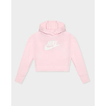 Nike Crop Colourblock Hoodie Junior's