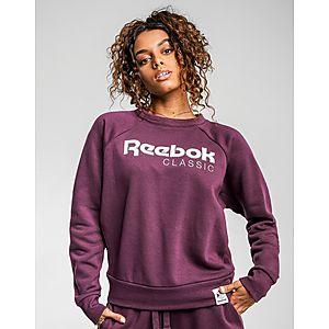 da4c4956736 REEBOK Iconic Fleece Crew Sweatshirt