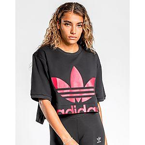 ca327d4674 adidas Originals Sleek Cropped T-Shirt
