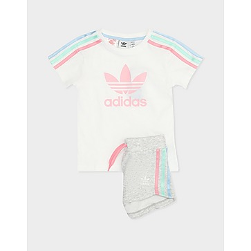 adidas Originals 3 Stripes T-Shirt Set Children's