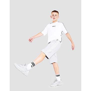 adidas B Shrt 3s Gry/wht