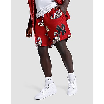 Majestic NY Yankees Paisley Shorts