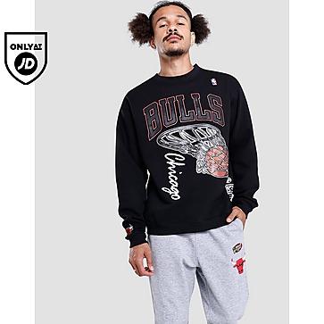 Mitchell & Ness Bulls Hoop Crew Sweatshirt