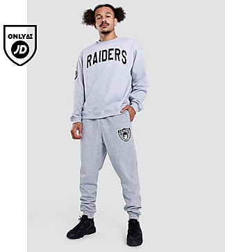 Mitchell & Ness Raiders Wordmark Crew Sweatshirt