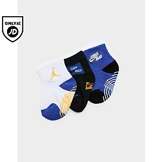 Jordan Air Logo 3 Pack Socks