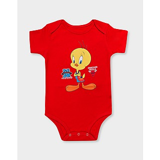 Outerstuff X Space Jam Tweety Coverall Infant's