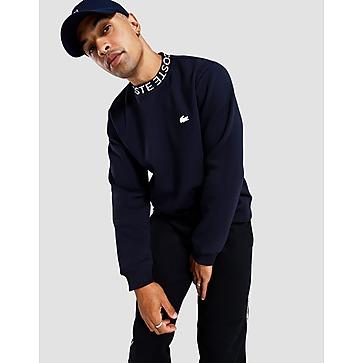 Lacoste Repeat Crew Collar Sweatshirt
