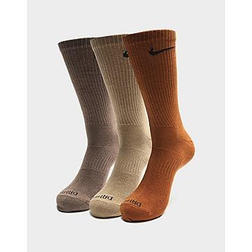 Nike Crew Swoosh 3 Pack Socks