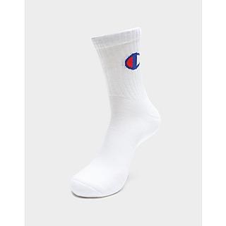 Champion 3 Pack Logo Socks