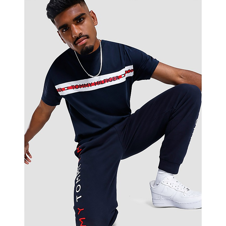 Tommy Hilfiger Chest Tape T-Shirt