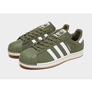 adidas superstar groen heren
