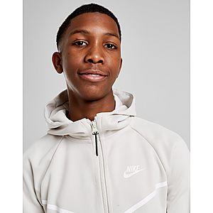 0749b7ca2b9 ... Nike Tech Poly Full Zip Hoodie Junior