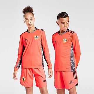 adidas Noord-Ierland 2020 Uit keepersshirt Junior