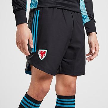 adidas Wales 2020 Away Goalkeeper Shorts Heren